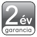 Umirs és Cardin termékekre 2 év garancia.