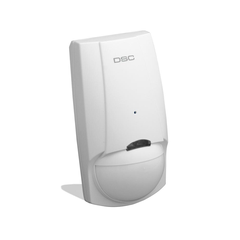 DSC mozgásérzékelő + akusztikus üvegtörés érzékelő, digitális, kisállat védett, fóliázott üvegre is használható