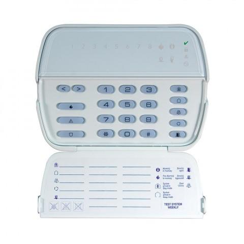 8 LED-es kezelő, új sorozat, POWER központokhoz