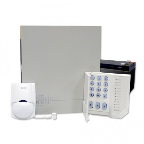 5+3  zónás központ +  PC1555RK kezelő