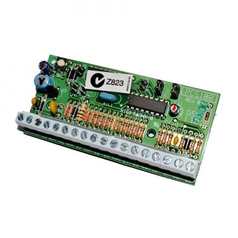 DSC 8 zónás bővítő modul, PC 1616/1832/1864/5020-hoz