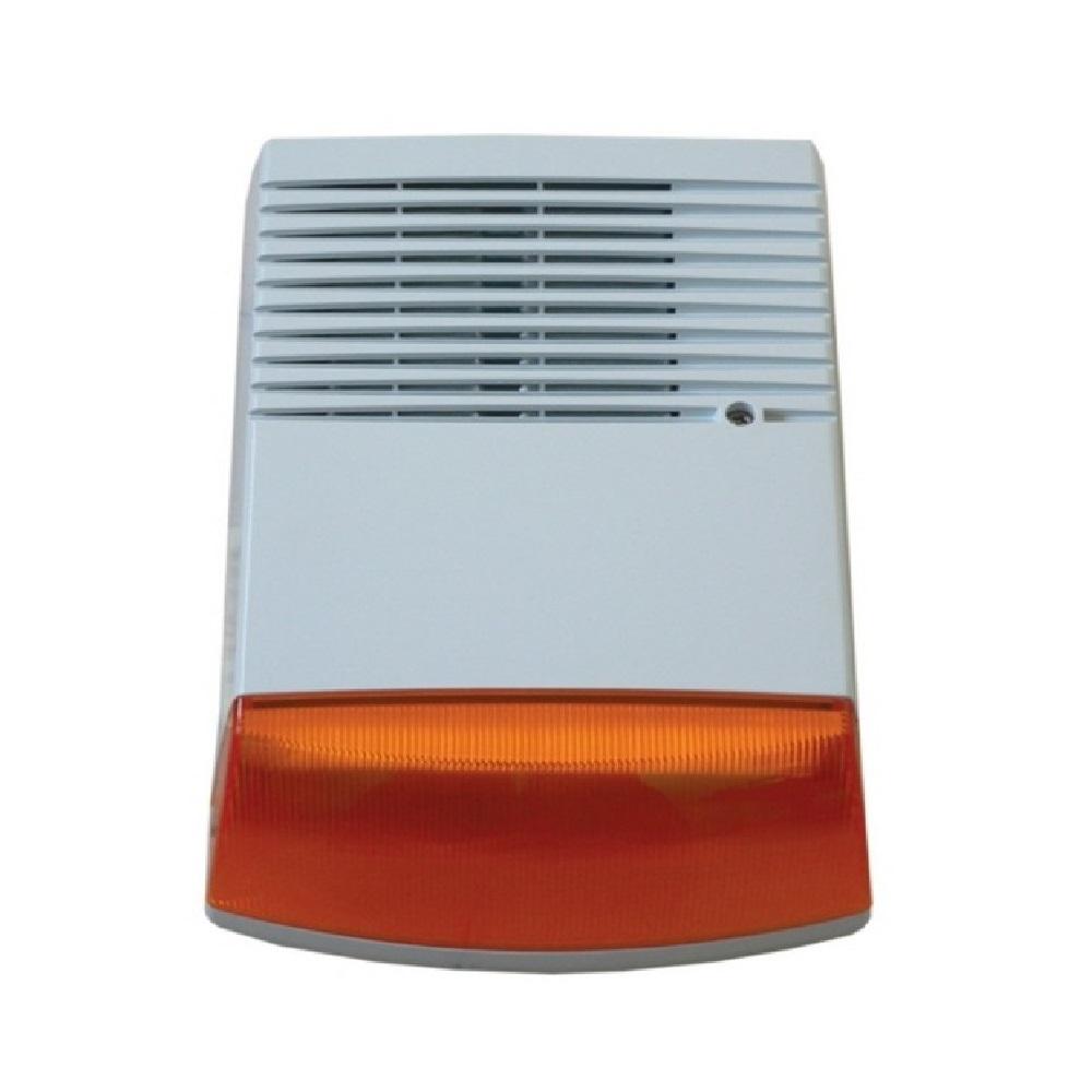 BSN kültéri akkumulátoros hang- fényjelző