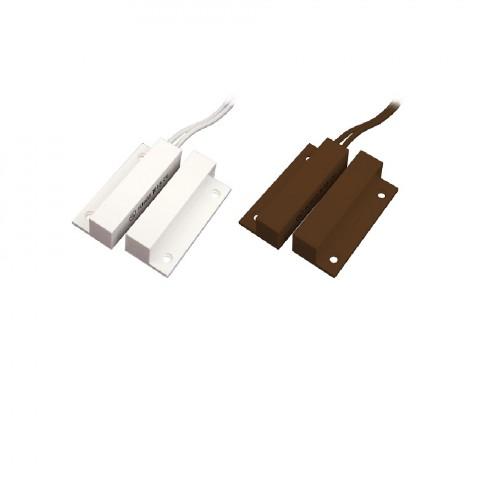 Tane Alarm felületre ragasztható nyitásérzékelő, szélső kivezetéssel, fehér és barna kivitelben