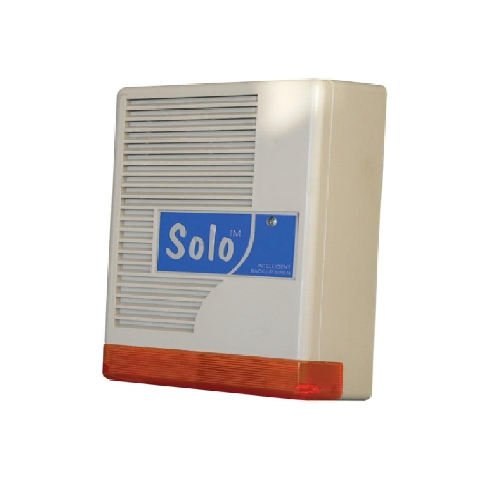 Kültéri akkumulátoros hang- fényjelző, MABISZ minősítéssel